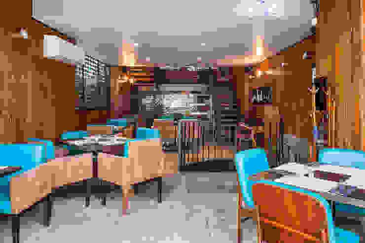 Térreo Espaços gastronômicos modernos por MM18 Arquitetura Moderno