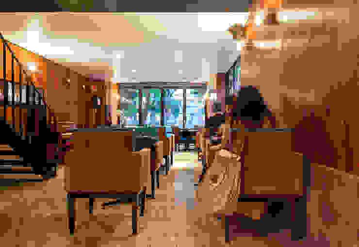 Térreo MM18 Arquitetura Espaços gastronômicos modernos