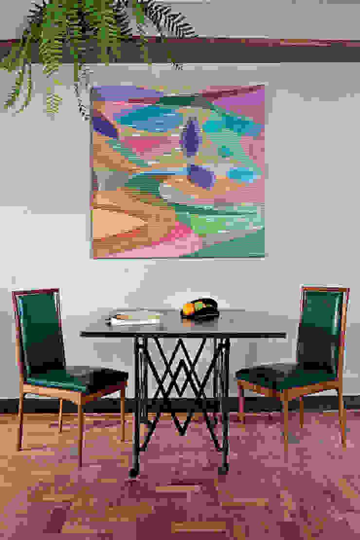Apartamento Facundo Guerra Salas de jantar modernas por MM18 Arquitetura Moderno