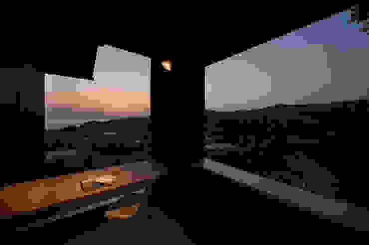 Tei 読書デッキ 和風デザインの テラス の キリコ設計事務所 和風