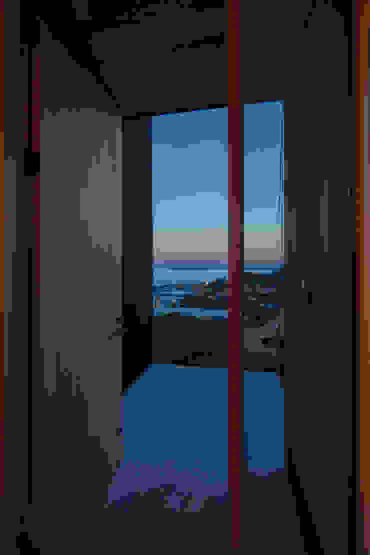 Tei entrance Puertas y ventanas de estilo asiático de キリコ設計事務所 Asiático