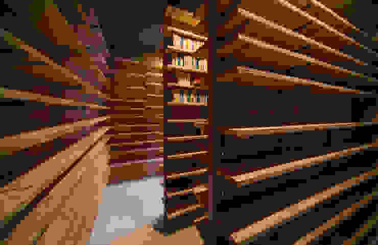 Tei 書庫 和風デザインの 多目的室 の キリコ設計事務所 和風
