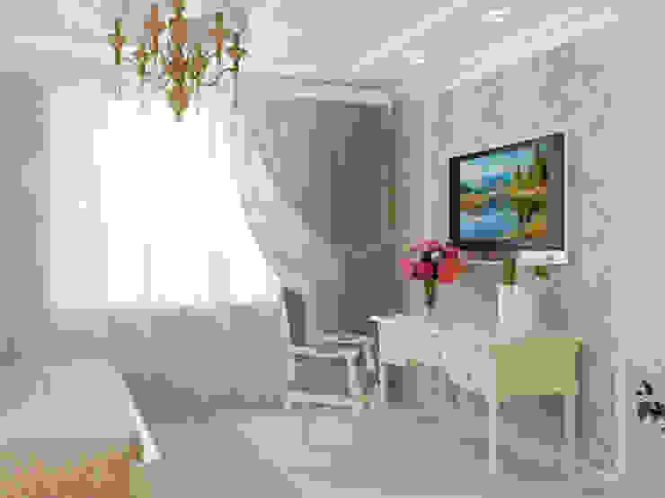Современная классика Спальня в классическом стиле от Kalista Классический