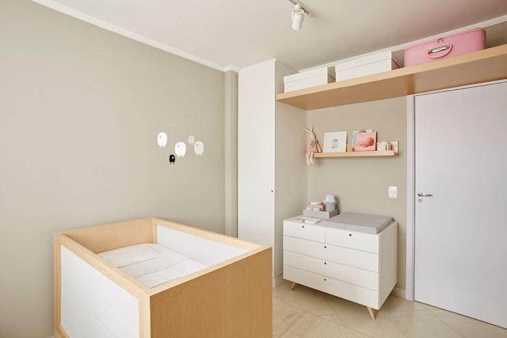 Nursery/kid's room by studio scatena arquitetura, Scandinavian