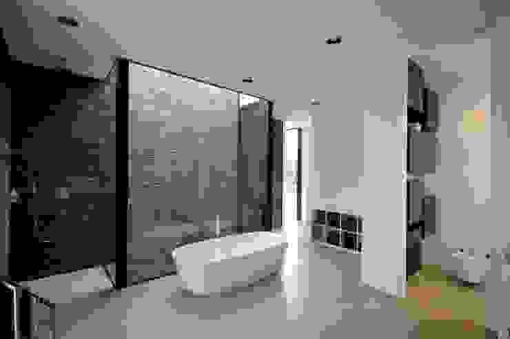 Wohnhaus in Selb Minimalistische Badezimmer von Osterwold°Schmidt EXP!ANDER Architekten Minimalistisch