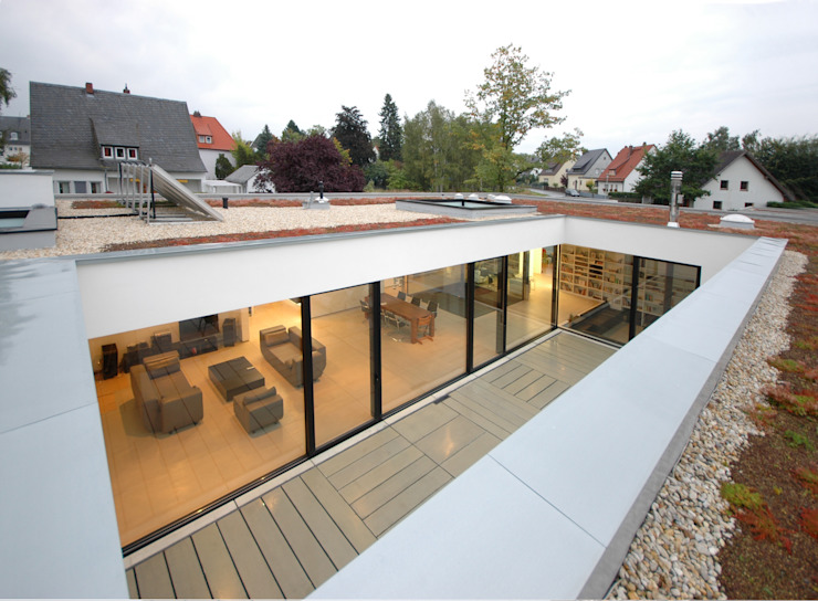 現代房屋設計點子、靈感 & 圖片 根據 Osterwold°Schmidt EXP!ANDER Architekten 現代風
