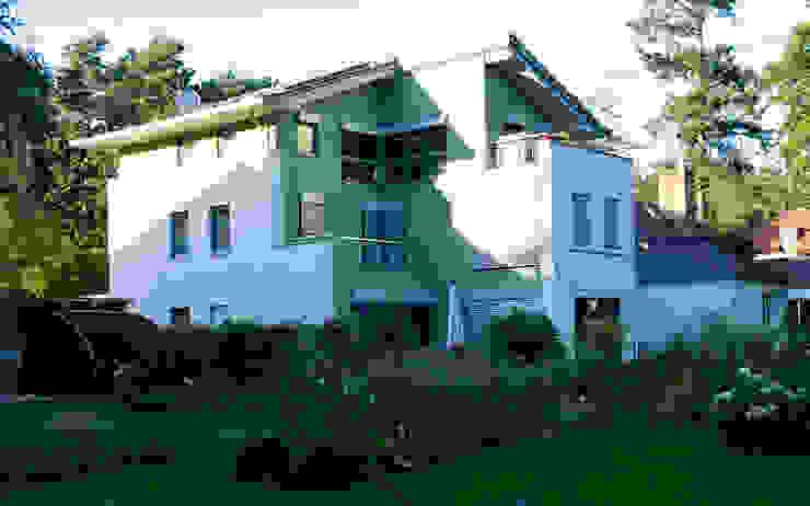 Neubau Stubenrauchstraße, Potsdam-Babelsberg Moderne Häuser von Anja Beecken Architekten Modern