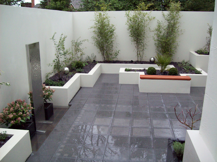 Patios, Terraces and Decking Unique Landscapes Modern style gardens
