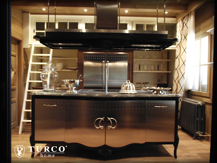 Rustic style dining room by turco home srl Rustic