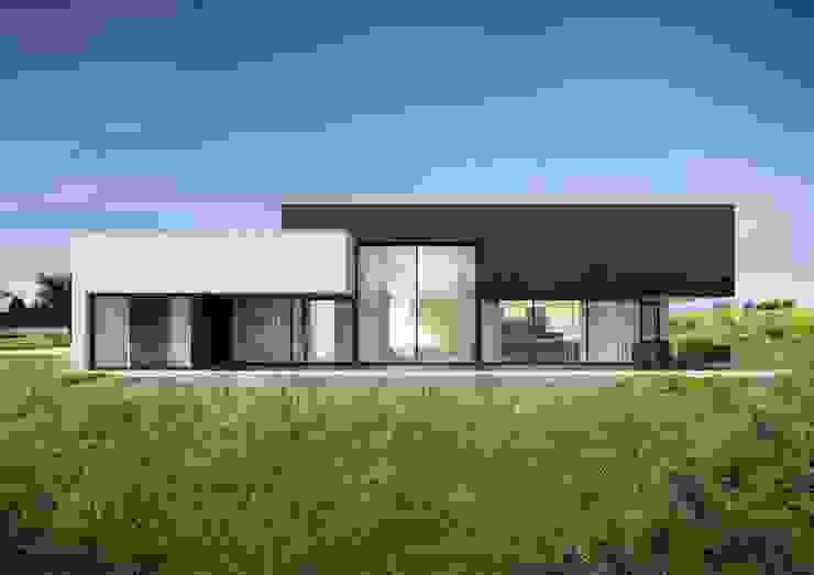 Dom na Stokach Minimalistyczne domy od REFORM Architekt Marcin Tomaszewski Minimalistyczny
