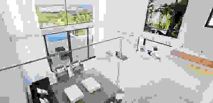 Casa Bünguens Interior 2 Salones de estilo moderno de CONCEPTO PROYECTOS DE ARQUITECTURA Moderno