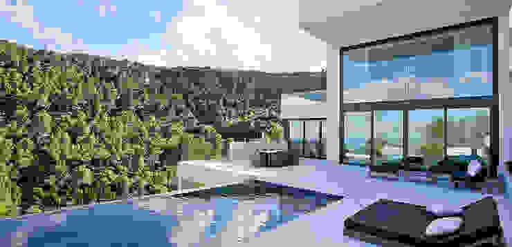 Casa Bünguens Exterior 1 Casas de estilo moderno de CONCEPTO PROYECTOS DE ARQUITECTURA Moderno