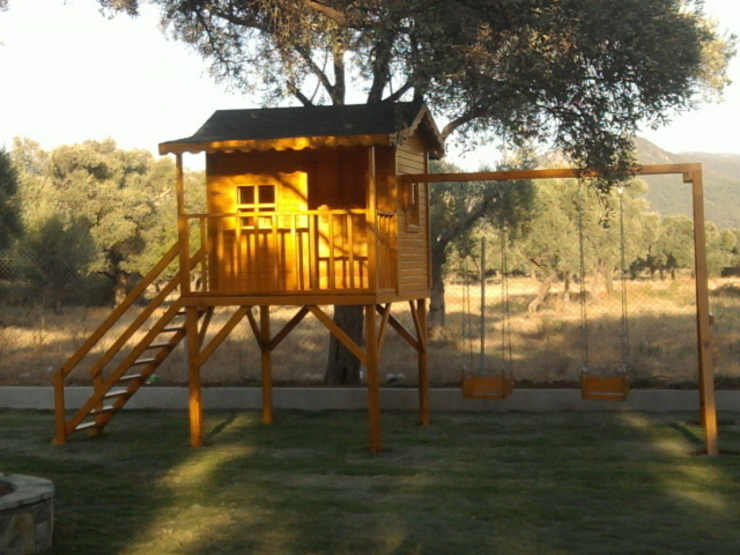 özay ahşap Garden Swings & play sets