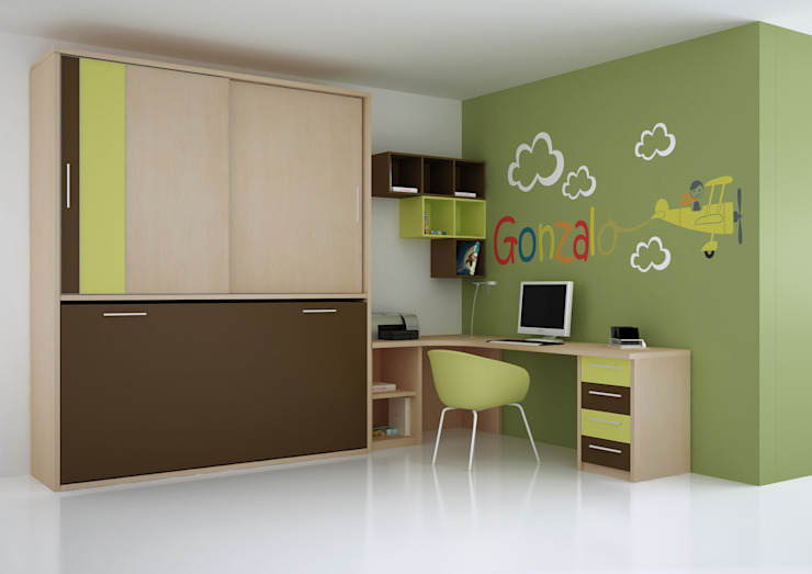 Cama abatible compacta con armario de Muebles y Decoración Marisa Cardona Moderno