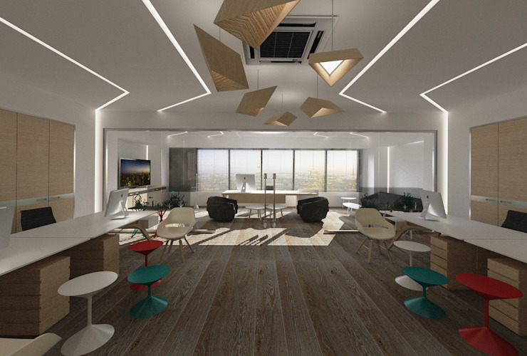 DONAT COLLECTION OFFICE Inan AYDOGAN /IA Interior Design Office Modern