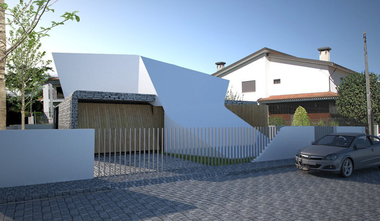 Projekty,  Domy zaprojektowane przez Office of Feeling Architecture, Lda, Nowoczesny