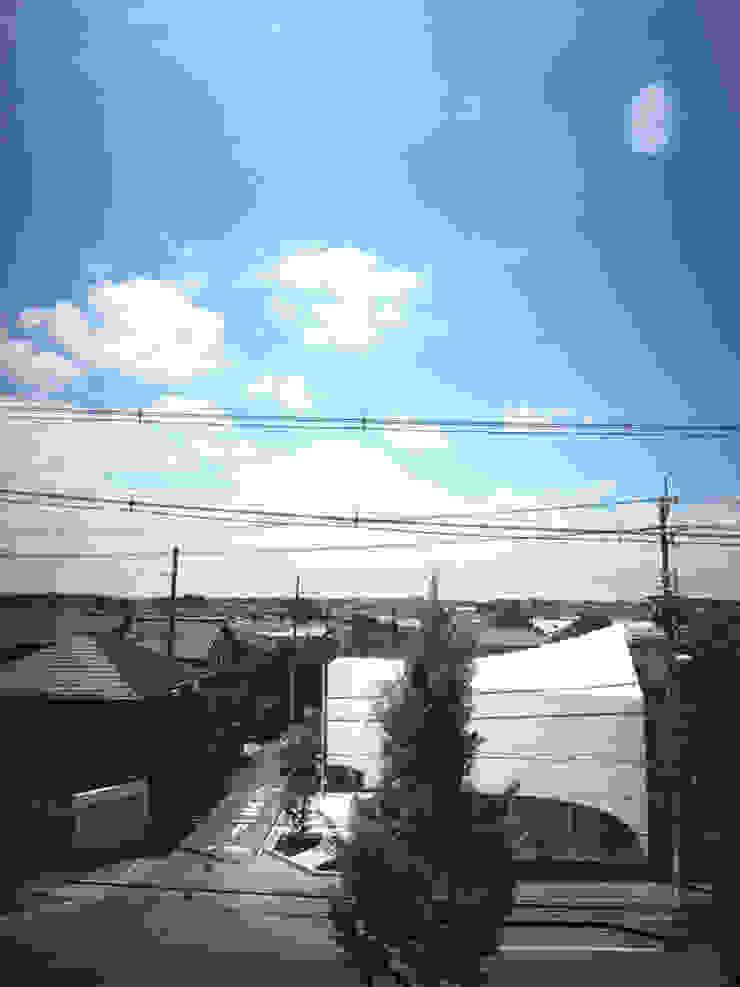 北側から見る オリジナルな医療機関 の 平沼孝啓建築研究所 (Kohki Hiranuma Architect & Associates) オリジナル