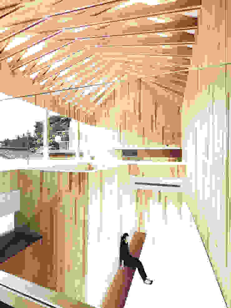 内部空間を見る オリジナルな医療機関 の 平沼孝啓建築研究所 (Kohki Hiranuma Architect & Associates) オリジナル