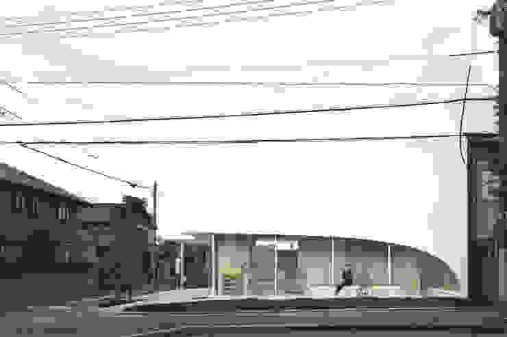 正面を見る オリジナルな医療機関 の 平沼孝啓建築研究所 (Kohki Hiranuma Architect & Associates) オリジナル