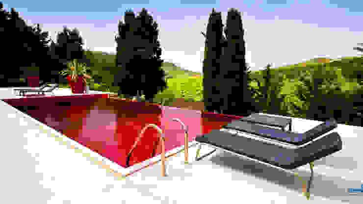 Olympic Italia Costruzioni Piscine SPA - di Gabriele Lodato Mediterranean style pool