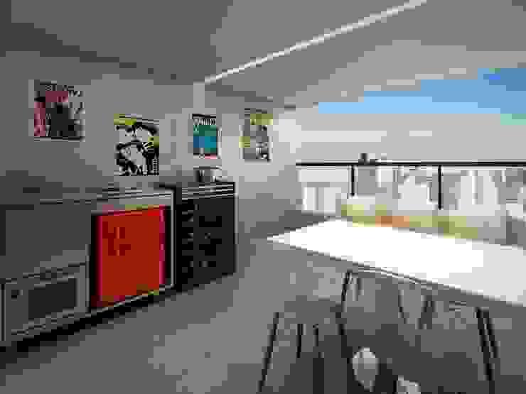 Modern Dining Room by MM18 Arquitetura Modern