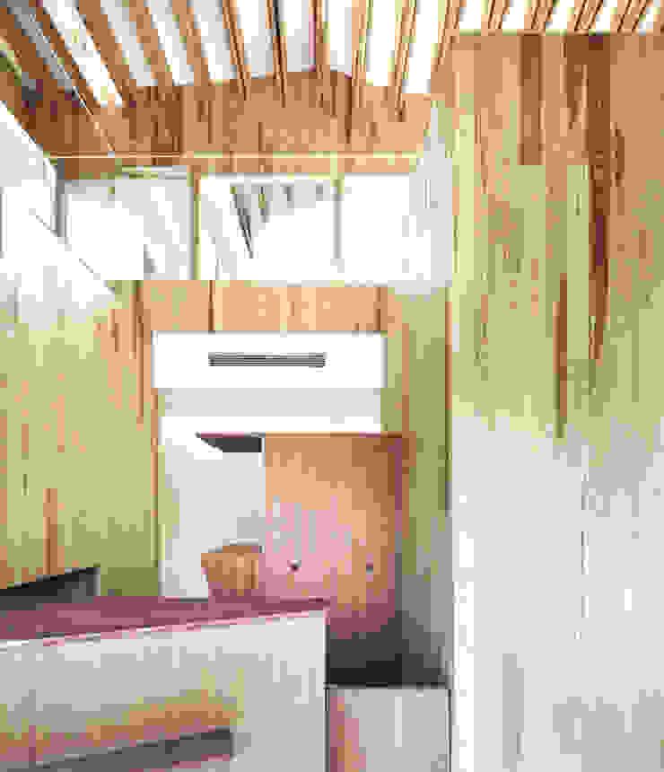 受付 オリジナルな医療機関 の 平沼孝啓建築研究所 (Kohki Hiranuma Architect & Associates) オリジナル