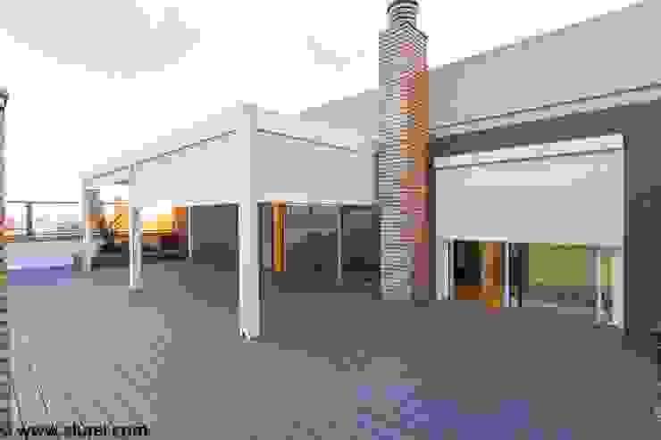 Atico en Tarragona Jardines de estilo minimalista de RENSON ventilacion y proteccion solar Minimalista