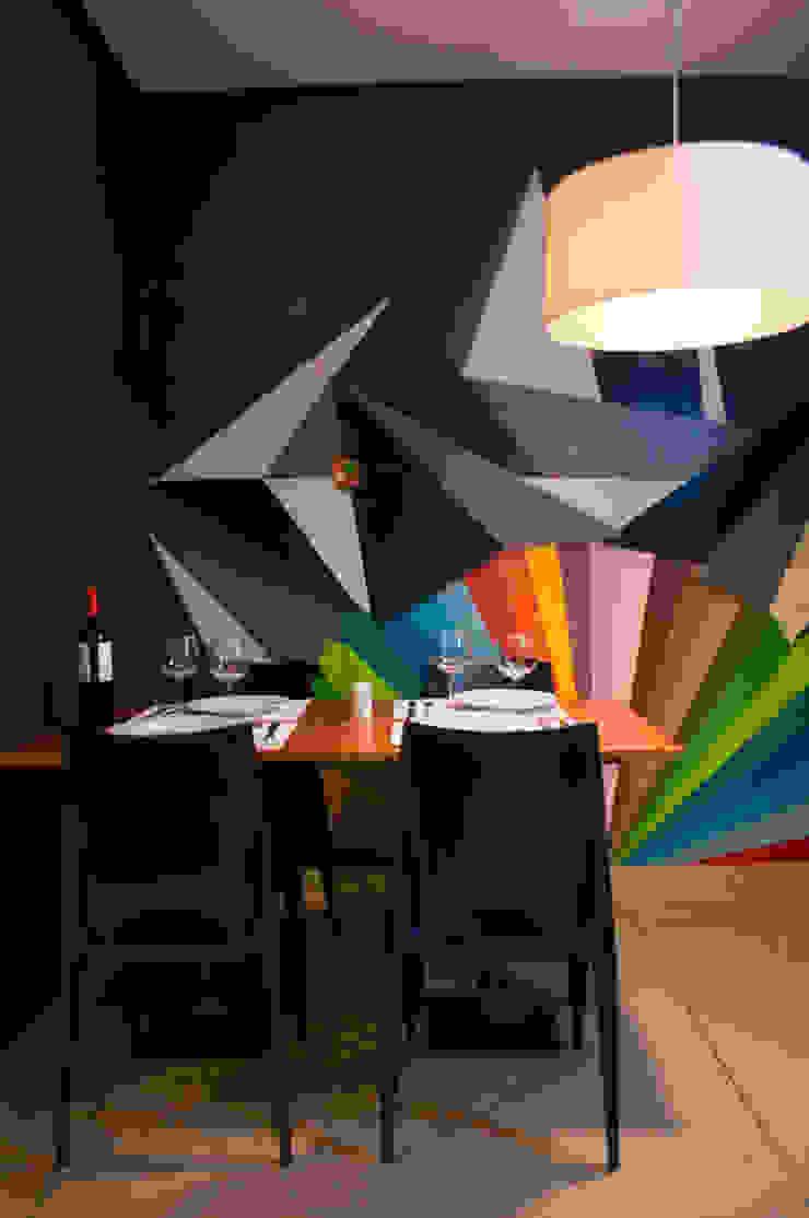 Dgé Bar & Restaurante Espaços gastronômicos modernos por MM18 Arquitetura Moderno