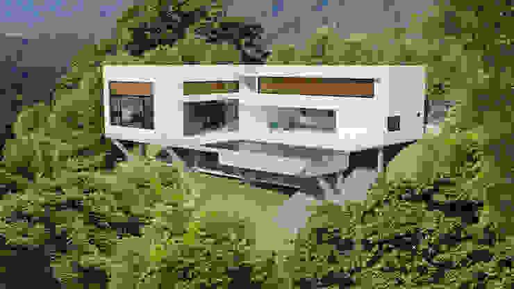 Casa Toninhas Casas modernas por MM18 Arquitetura Moderno