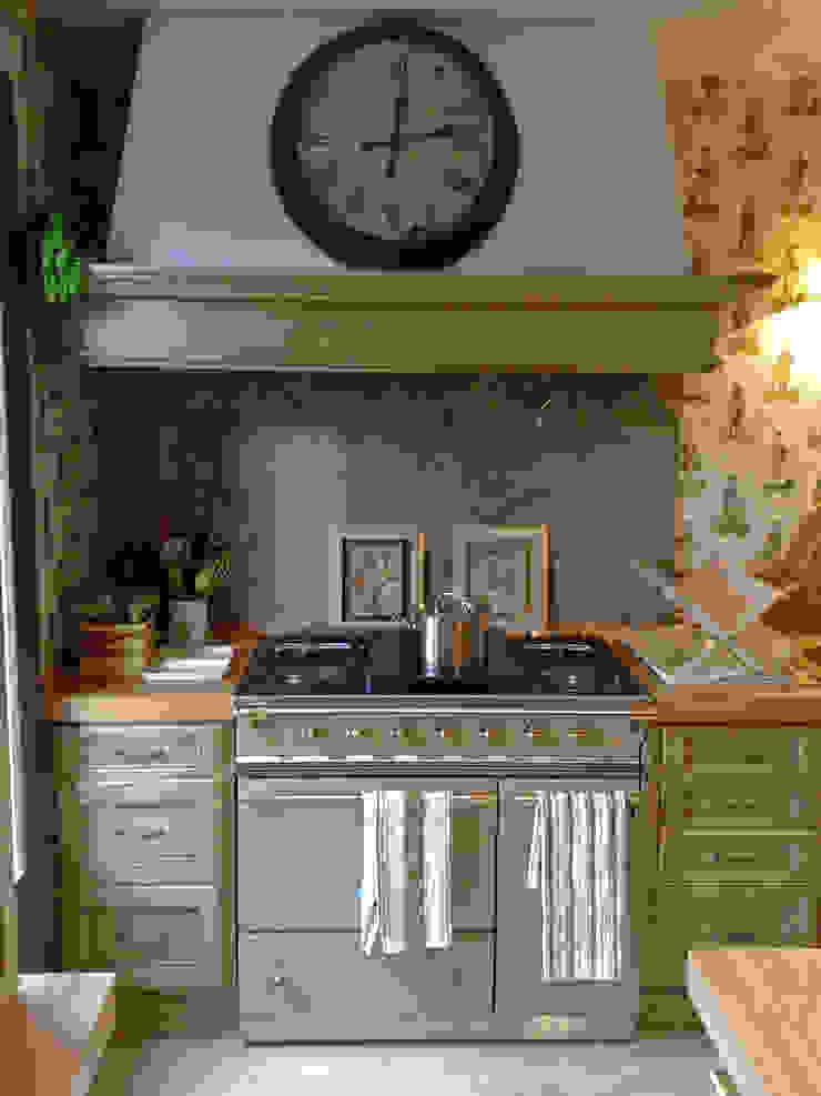 Medinaceli verde hoja Cocinas de estilo rústico de Gamahogar Rústico