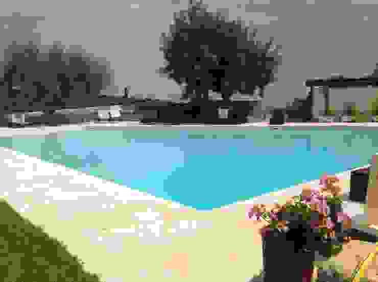 Olympic Italia Costruzioni Piscine SPA - di Gabriele Lodato Rustic style pool
