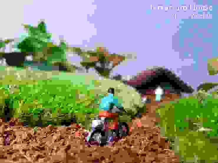 Terrarium House – Terrarium 'Home Sweet Home': modern tarz , Modern