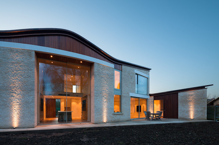 The Laurels Modern houses by Adrian James Architects Modern