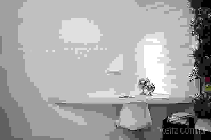 Escritório do Loft do Futuro Escritórios minimalistas por Espaço do Traço arquitetura Minimalista