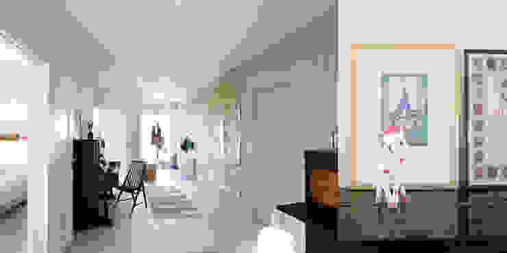 hEMMA Interior Scandinavian style corridor, hallway& stairs