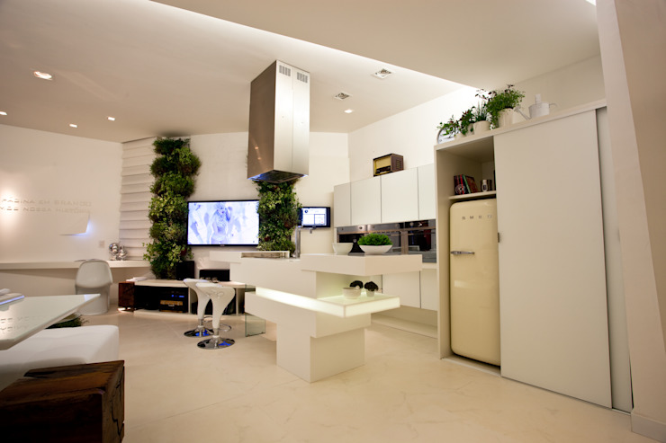 Cozinha do Loft do Futuro Cozinhas minimalistas por Espaço do Traço arquitetura Minimalista