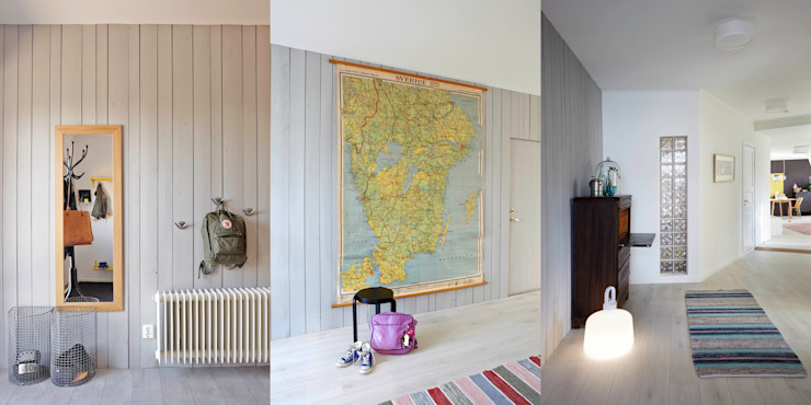 Pasillos, vestíbulos y escaleras de estilo escandinavo de hEMMA Interior Escandinavo