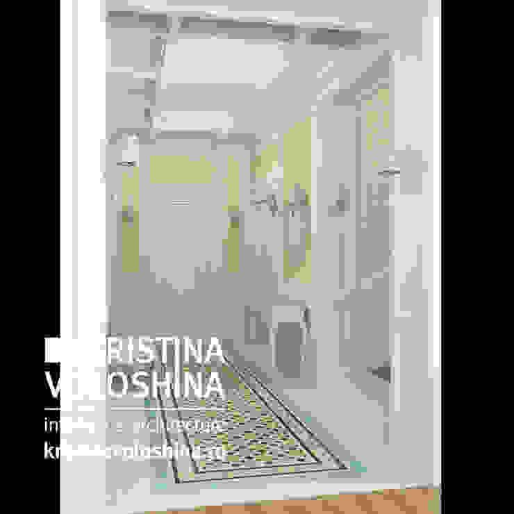 Дом на Рублёвском шоссе 345 м кв Коридор, прихожая и лестница в классическом стиле от kristinavoloshina Классический