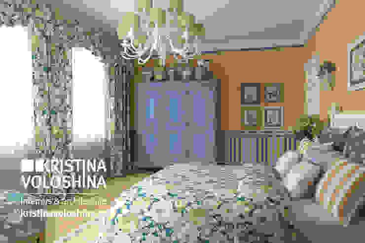 Camera da letto rurale di kristinavoloshina Rurale