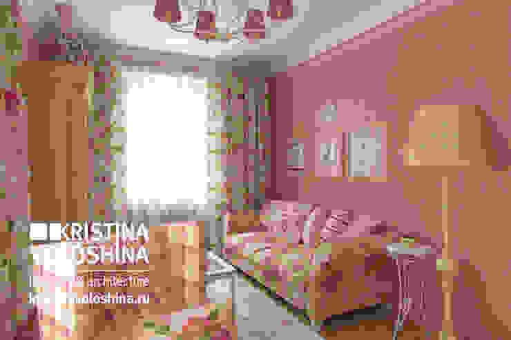 Дом на Рублёвском шоссе 345 м кв Рабочий кабинет в стиле кантри от kristinavoloshina Кантри