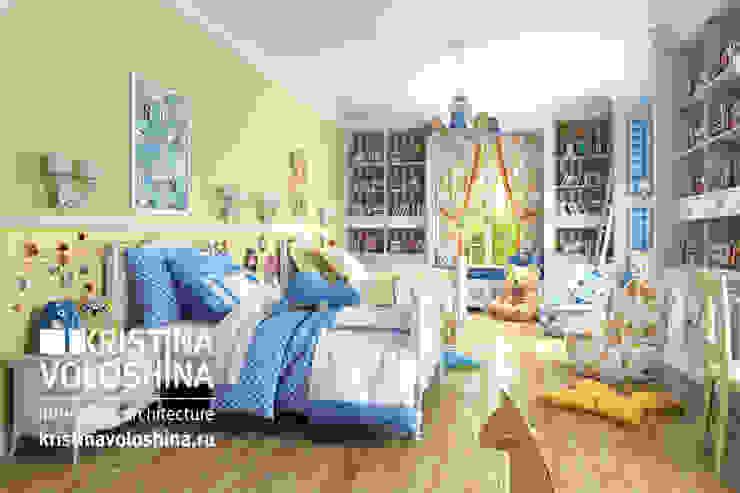 Дом на Рублёвском шоссе 345 м кв Детская комнатa в стиле кантри от kristinavoloshina Кантри