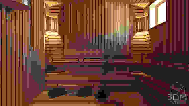 32 Спа в стиле кантри от студия визуализации и дизайна интерьера '3dm2' Кантри