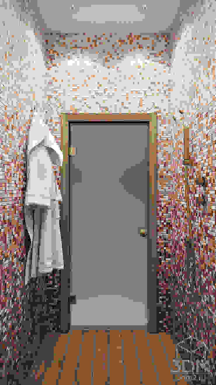 Country style bathroom by студия визуализации и дизайна интерьера '3dm2' Country