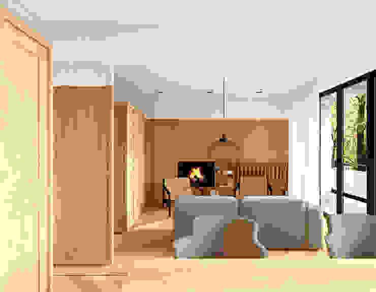 Apartment A02 Moderne Wohnzimmer von dontDIY Modern