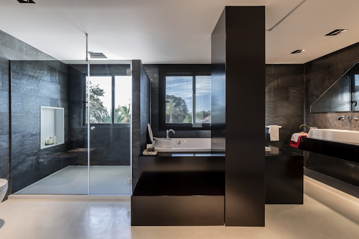 Baño spa Baños modernos de Laura Yerpes Estudio de Interiorismo Moderno