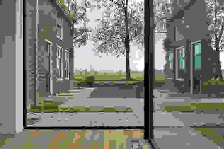 Woonboerderij Acht 5 Landelijke woonkamers van RESET ARCHITECTURE Landelijk