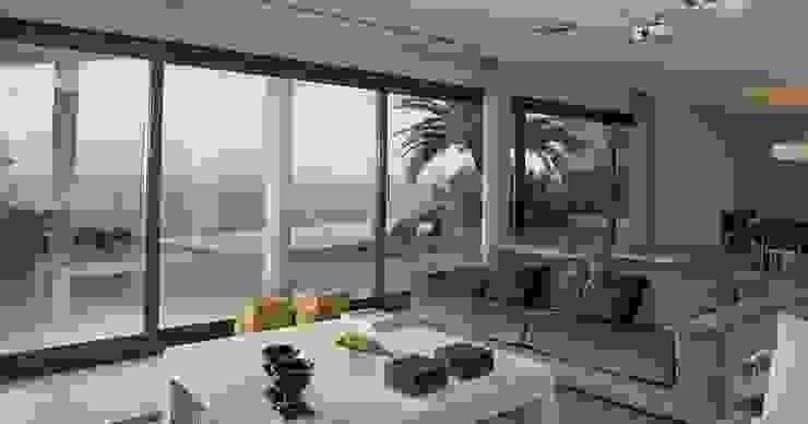 Mediterranean style living room by Laura Yerpes Estudio de Interiorismo Mediterranean