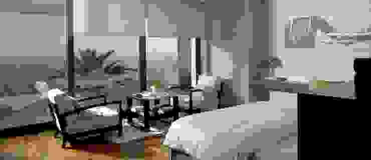 Eclectic style bedroom by Laura Yerpes Estudio de Interiorismo Eclectic