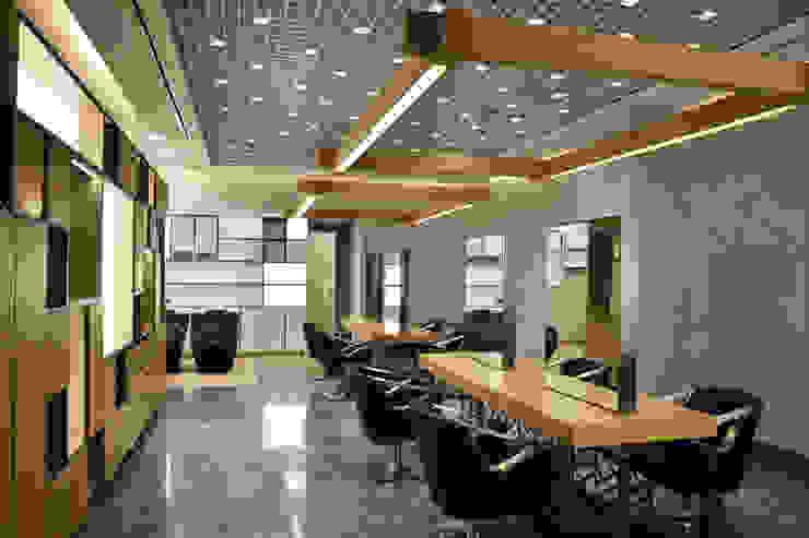Hairdresser Project for Bomonti Hilton Figaro Consept MONOBLOK DESIGN & INTERIORS Modern