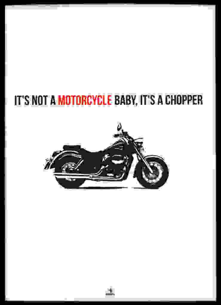 IT IS NOT A MOTORCYCLE od MSP Sp. z o.o. Minimalistyczny